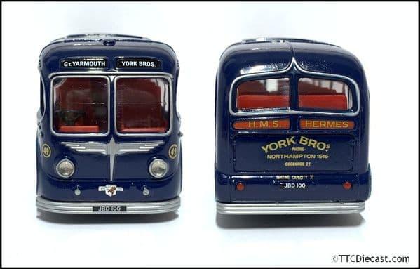 CORGI 97053 BURLINGHAM SEAGULL - York Brothers set, Butlingham Seagul / AEC Regal  * PRE OWNED *